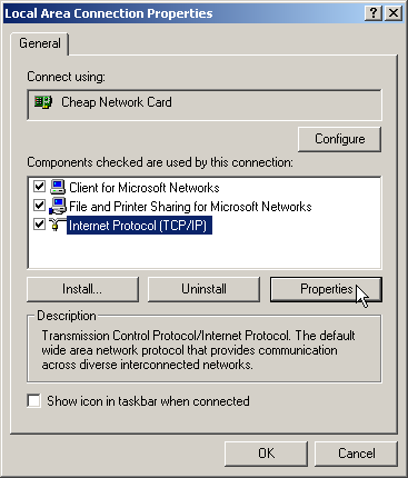Local Area Connection Image